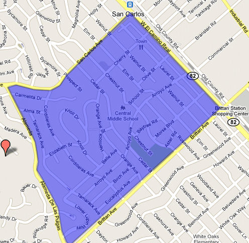 Howard Park Map